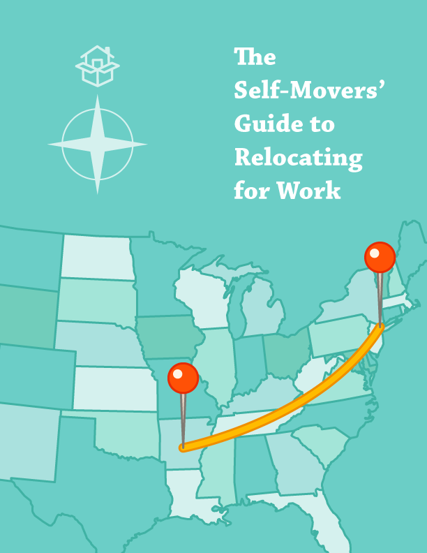 "Blue map ""the self-movers' guide to relocating for work"""