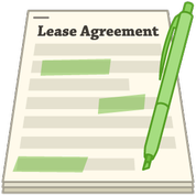 green highlighter lease agreement