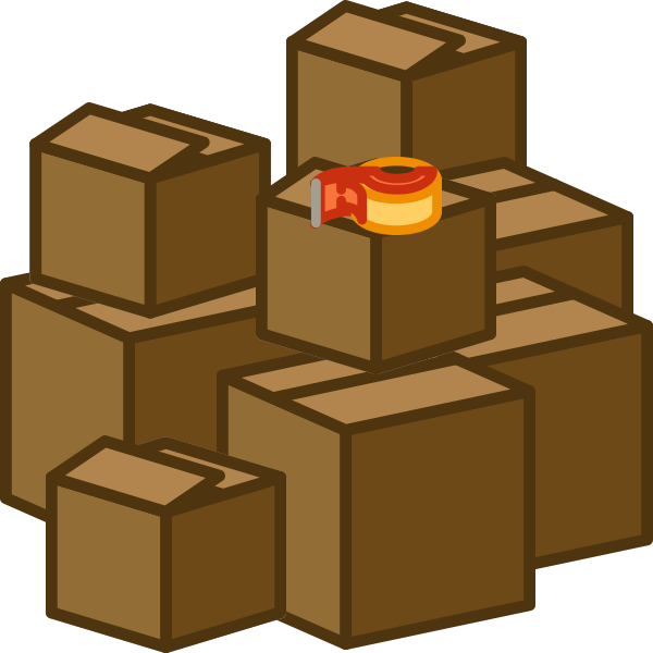 where to get the right boxes for a move moveline box clipart white box clipart black and white