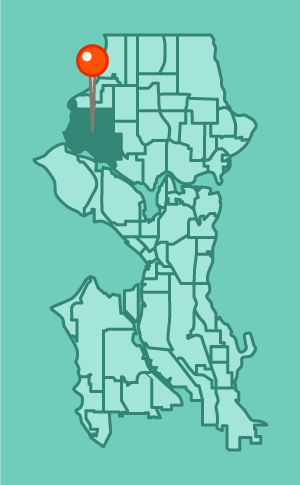 finding a house or apartment in Ballard, Seattle