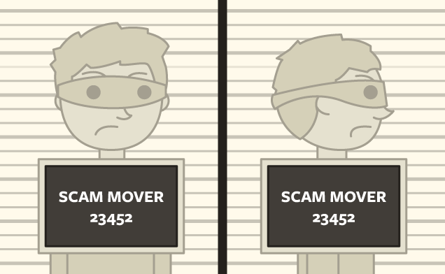 Avoid hiring shady looking movers